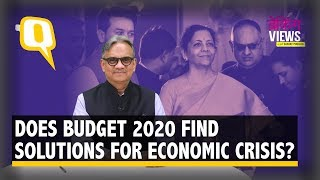 Does Budget 2020 Find Solutions For India's Economic Slowdown? | The Quint