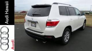 preview picture of video '2013 Toyota Highlander Honolulu, HI #A5145A - SOLD'