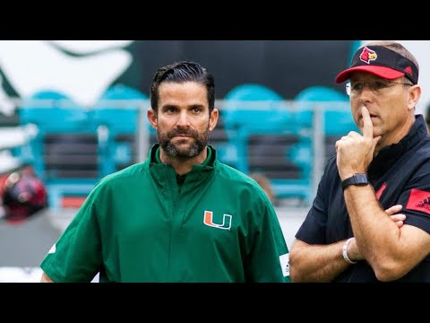 Miami Hurricanes Defeat  Louisville Cardinals Post Game Show