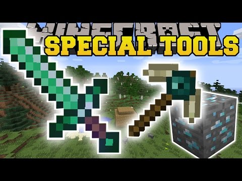 Minecraft: SPECIAL TOOLS MOD (TROLLING, CAPTURE MOBS, AUTO STORAGE, & MORE!) Mod Showcase