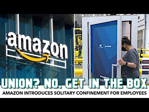Amazon Introduces Solitary Confinement For Employees