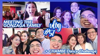 Vlog #57 (Part 2): Meeting Toni, Alex, Mommy Pinty, and more!! + CHAMBE Dance Challenge 🙈😂✨💕