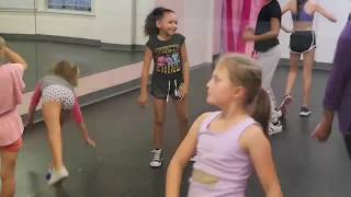 Asia's First Day Of Dance Class!