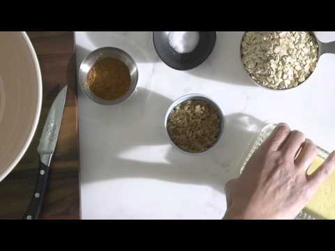 How to Make Apple Crisp with Truvía® Brown Sugar Blend