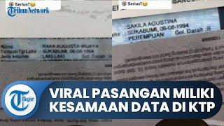 Viral Video Pasutri di Bandung Miliki Kesamaan Data di KTP: Tempat Lahir, Tahun, dan Bulan Sama