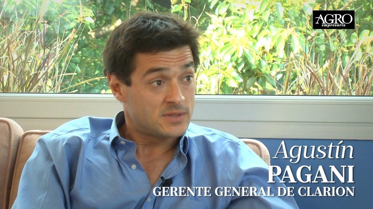 Agustín Pagani - Gerente General de Clarion