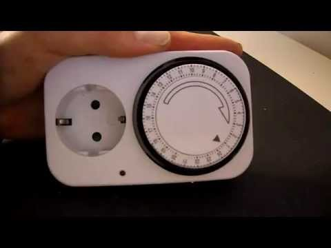 analoge Zeitschaltuhr einstellen - einfach und kurz erklärt Zeituhr stellen