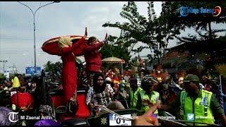 Ribuan Warga Tumpah Ruah Saksikan Kirab Budaya Sambut HUT ke-341 Brebes