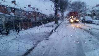 So much snow in Birmingham Erdington
