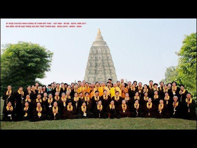 Thuyết Pháp Tại Bồ Đề Đạo Tràng Hành Trình Theo Dấu Chân Phật Chùa Khai Nguyên