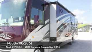 Newmar 2012 Canyon Star 3856 Class A Gas Motorhome for sale