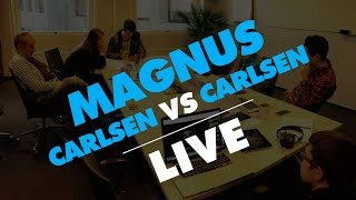 Magnus Carlsen vs. Play Magnus Age 11& 12 - Live Stream from MobCrush 11/11/15
