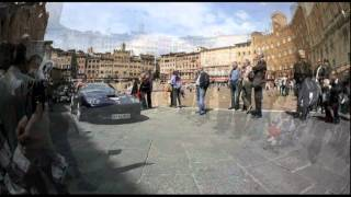 preview picture of video 'Ferrari Tribute to the Mille Miglia 19.05.2012, Siena'