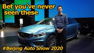 The Most Chinese Luxury Car Around (and other interesting cars from Auto China 2020)
