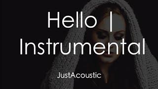 Hello - Adele (Acoustic Instrumental)