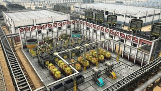 AUTOMATION EMPIRE   Ep. 4   Building Automated Factories Factorio Meets Satisfactory Gameplay