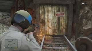 Mysterious Caves - GTA 5 Jetpack Mystery / Secrets & Easter Eggs
