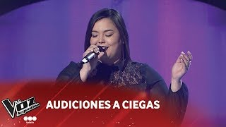 """María Victoria Silva - """"Perdón perdón"""" - Ha-ash - Audiciones a ciegas - La Voz Argentina 2018"""
