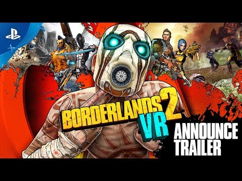Borderlands 2 VR – Announce Trailer | PS VR thumbnail