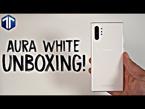 Samsung Galaxy Note 10 Plus (Aura White) Unboxing!