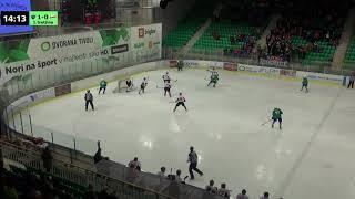 Člani AHL 8.3.2018 HK SŽ Olimpija – HDD Acroni Jesenice 2:3 (OT), posnetek celotne tekme