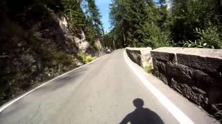 preview picture of video 'Abfahrt vom Stilfser Joch'