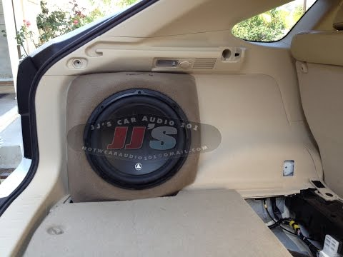 Lexus RX350,400,450 custom sub box for sale on eBay or local pickup in Los Angeles