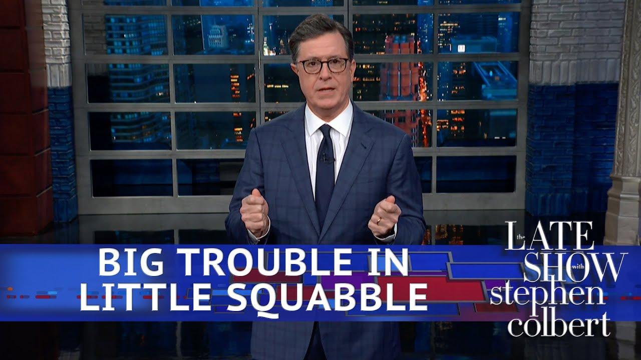 Trump Labels The Trade War A 'Little Squabble' thumbnail