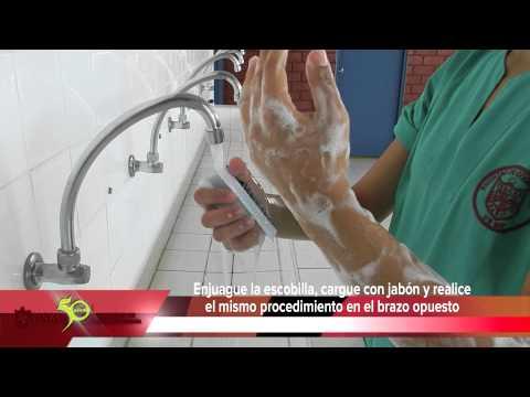 Lavado quirúrgico de manos