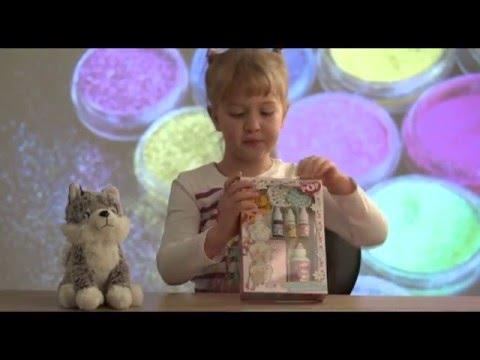 ( Xenia testet Kinder Nagellack Set )( Kinder Nagellack selbst mischen )