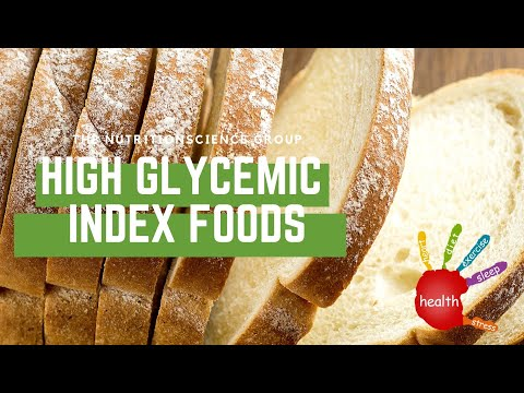 High Glycemic Index Foods