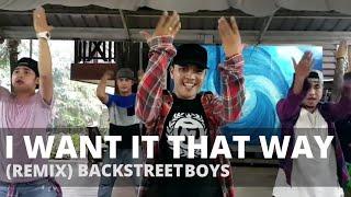 I WANT IT THAT WAY (Remix) By Backstreet Boys | Dance Fitness | TML Crew Carlo Rasay
