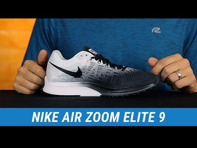 Nike Men's Air Zoom Elite 8 101, BLACK/WHITE WOLF