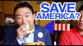 How Andrew Yang Will Save America (INTERVIEW) 2020 Presidential Candidate | Fung Bros