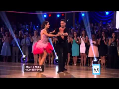 Meryl Davis & Maks- All Night  DWTS 18-Week-1