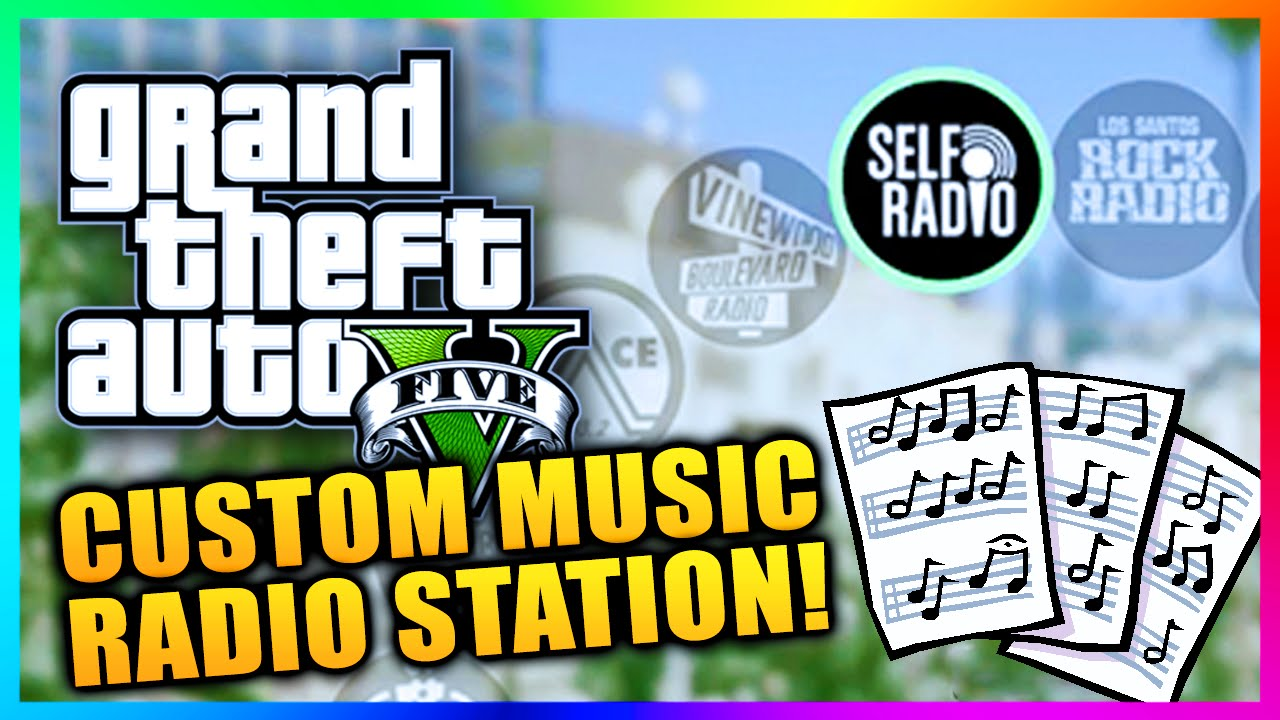 Self Radio Creating Your Own Custom Radio Station In Gtav Pc Rockstar Games