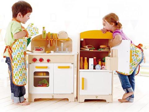 Hape Gourmet Kitchen Kid's Wooden Play Kitchen in Orange