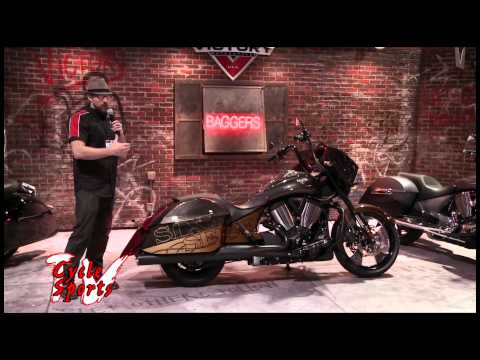 Victory Motorcycles Custom Cross Country 8 ball
