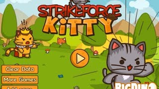 Strikeforce Kitty Walkthrough Gameplay (100% COMPLETED) by Kitsune Syo