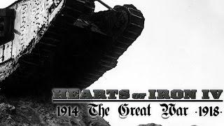 Hearts of Iron 4- Обзор мода The Great War +ссылка на скачивание в описании!