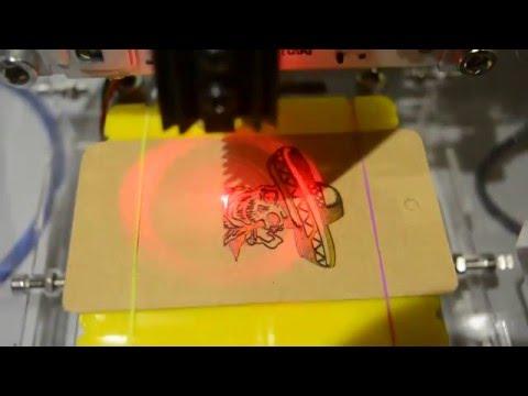 200-250mW DIY Red Laser Engraving Machine Kit from banggood