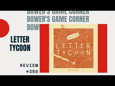 Bower's Game Corner: Letter Tycoon Review