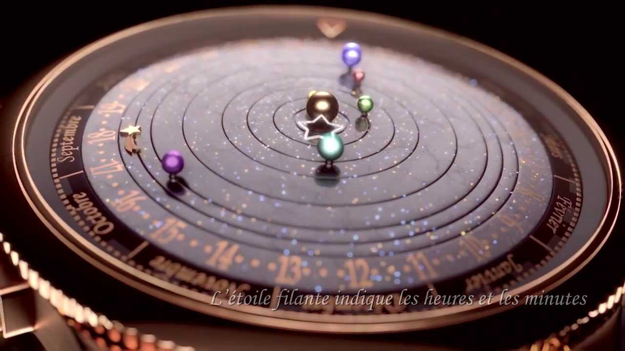 This Luxury Planetarium Watch Lets You Keep The Galaxy On Your Wrist