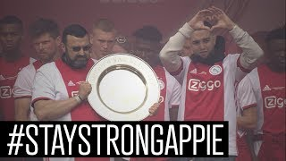 Ajax Draagt 34e Landstitel Op Aan Nouri | HULDIGING