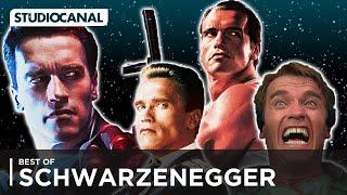 BEST OF Arnold Schwarzenegger | Terminator 2, Red Heat, Total Recall, Der City Hai
