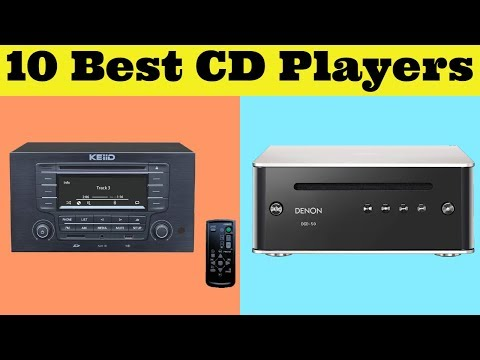 Top 10 Best CD Players 2019 - Best CD Player With Speakers
