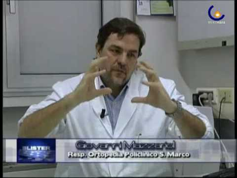 Esercizio dopo lintervento chirurgico sul video dellanca
