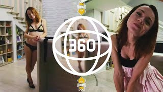 ТВОЯ ДЕВУШКА! Ролевая игра в виртуальной реальности • 360 VR Video + ASMR (#VRKINGS)