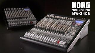 Korg Mixeur analogique/numérique 16 entrées, 8 sorties - Video