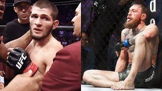 Это нужно видеть! Что осталось за кадром боя Конор - Хабиб на UFC 229